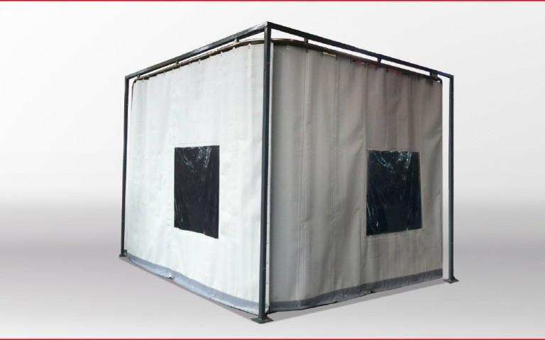 mobile schallschutzwand schallschutz trennwand. Black Bedroom Furniture Sets. Home Design Ideas