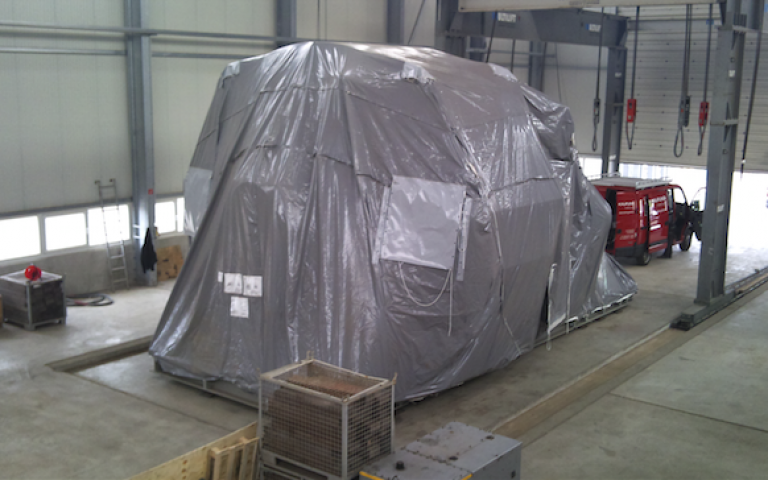 Protective covers for transport and logistics